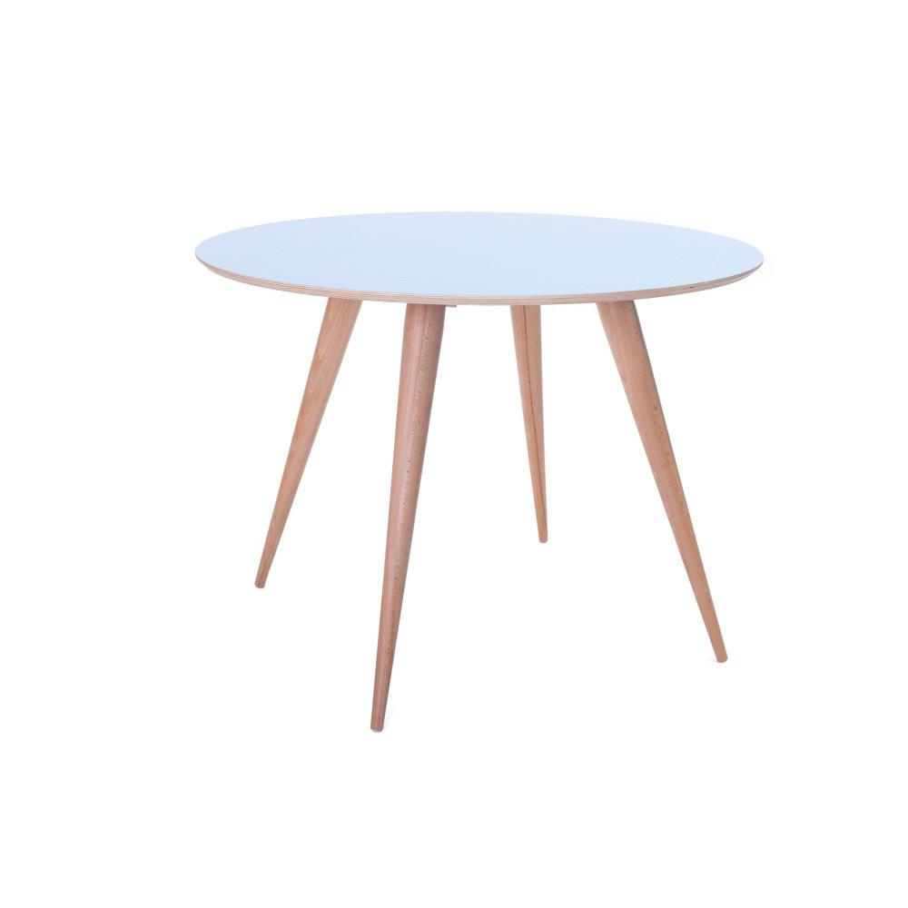 Modrý jedálenský stôl Ragaba Planet Round