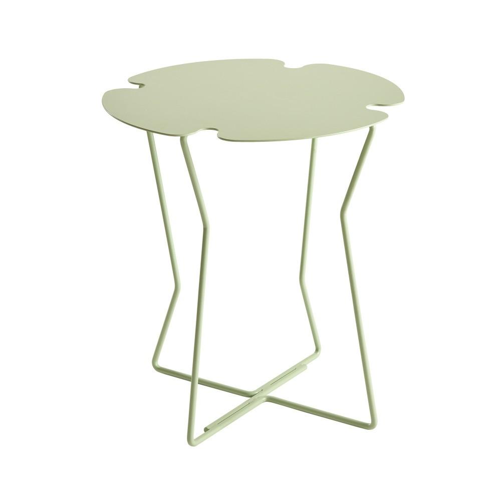 Svetlozelený odkladací stolík MEME Design Corolla
