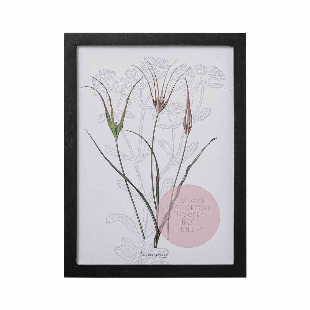Obraz Bloomingville Flowers, 40×30 cm