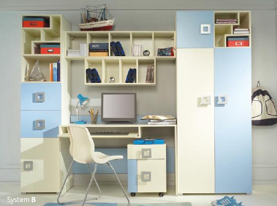 Detská izba Labirynt B | modrá