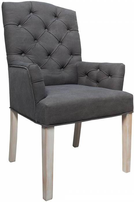 Stolička COSTLE - sivá