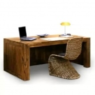 Furniture nábytok  Masívny písací stôl z Palisander  Senoubar  180x75x80 cm