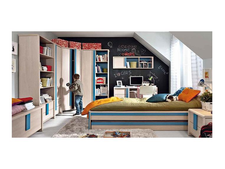 Jednolôžková posteľ 90 cm Caps LOZ/90