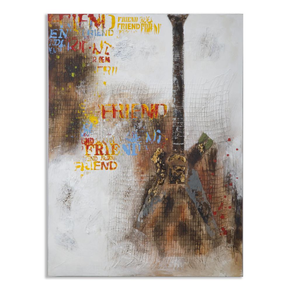 Obraz Mauro Ferretti Guitar City, 90 x 120 cm