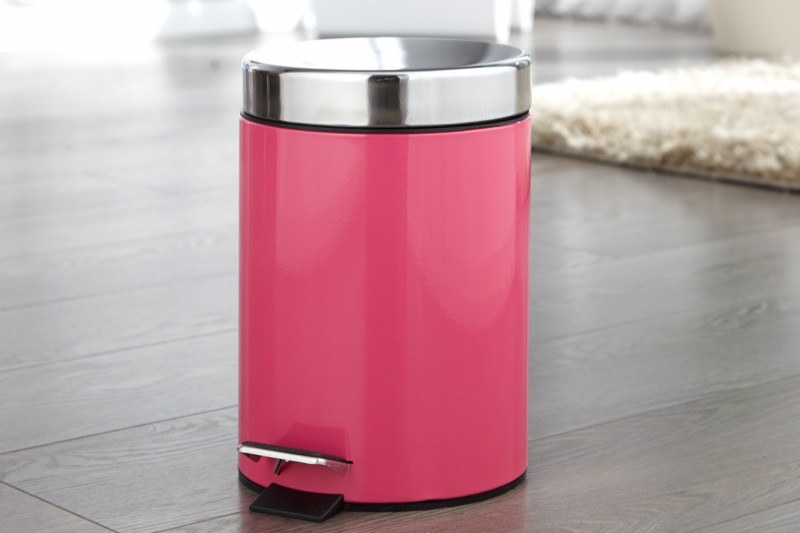 Bighome - Odpadkový kôš REFUNSE - ružová