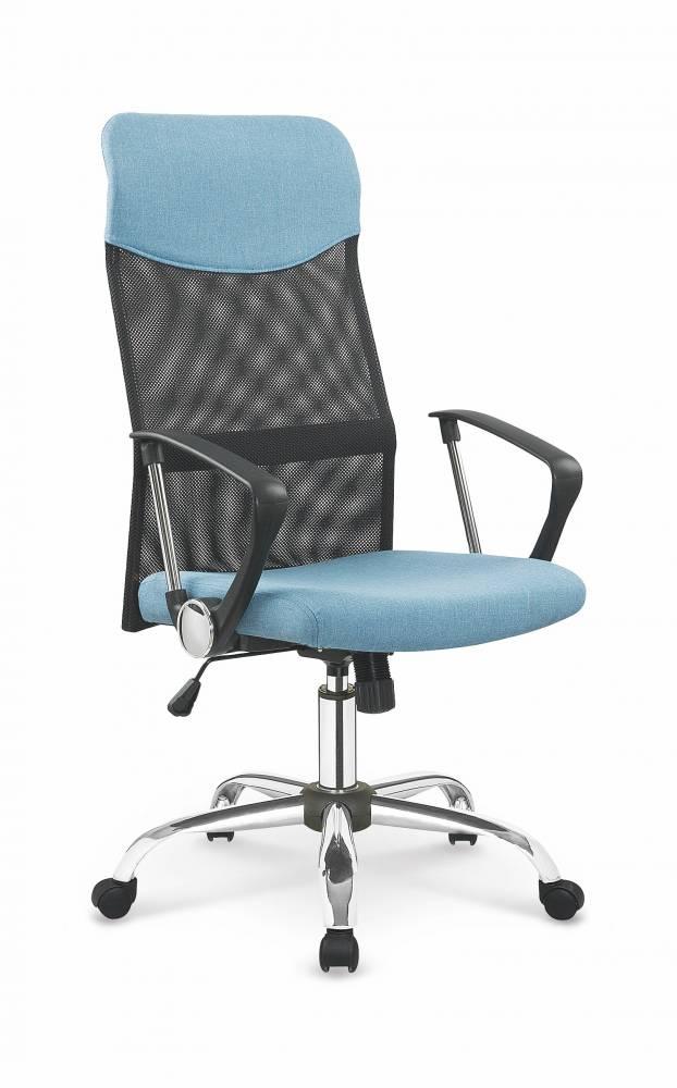 Kancelárska stolička Vire 2 (čierna + modrá)