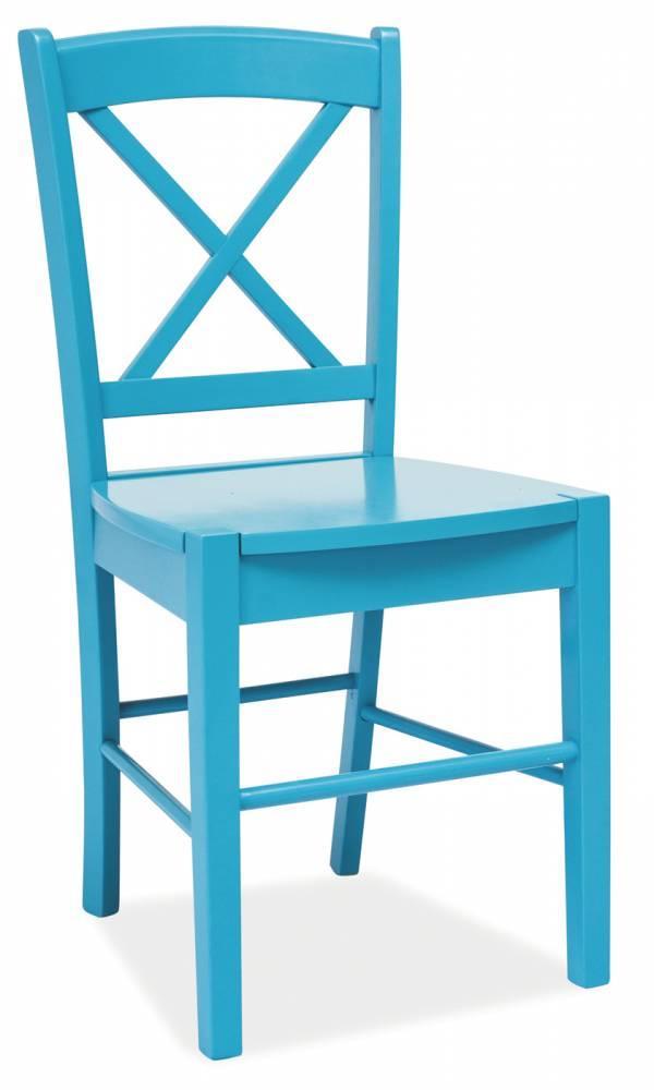 Jedálenská stolička CD-56 (modrá)