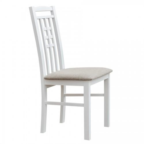 Biely nábytok Stolička Belluno Elegante 31, čalúnenie PORTOS 734