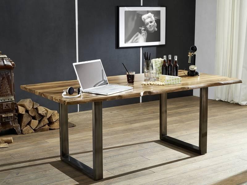 Bighome - ROUND Jedálenský stôl 180x90 cm, palisander