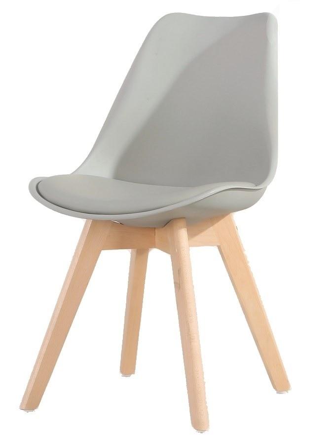 CROSS jedálenská stolička, šedá