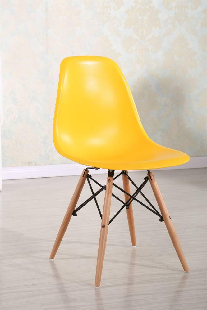 Moderná stolička MODENA, buk/žltá