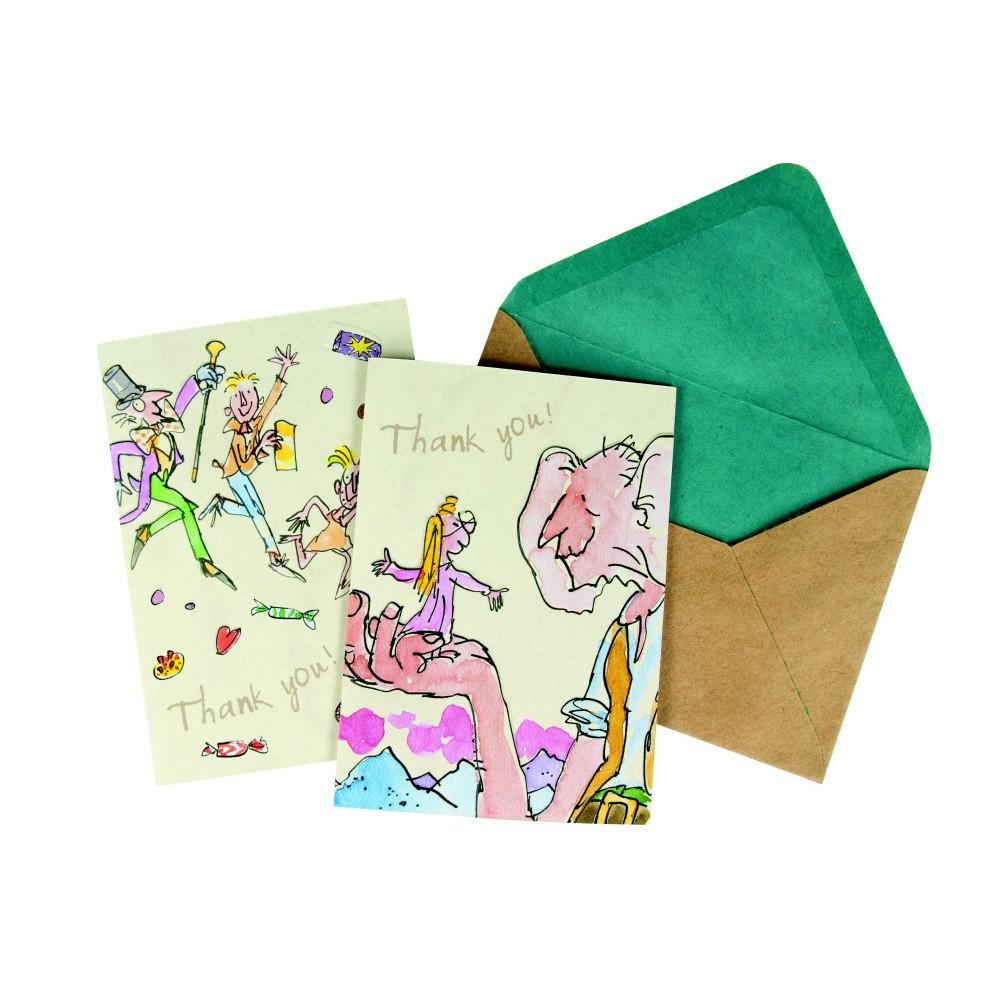 Sada 10 komplimentiek s obálkou Roald Dahl by Portico Designs