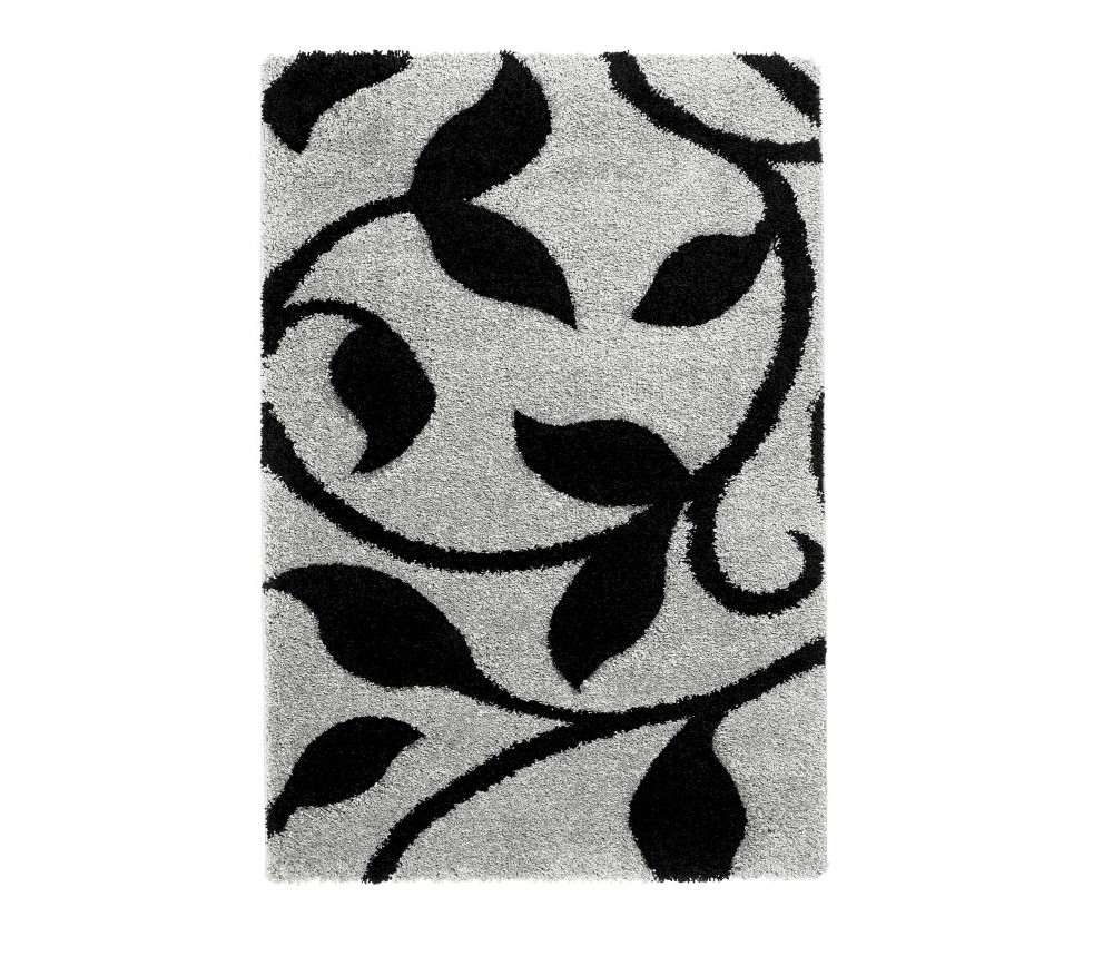 Koberec Think Rugs Fashion Grey Black, 80 x 150 cm