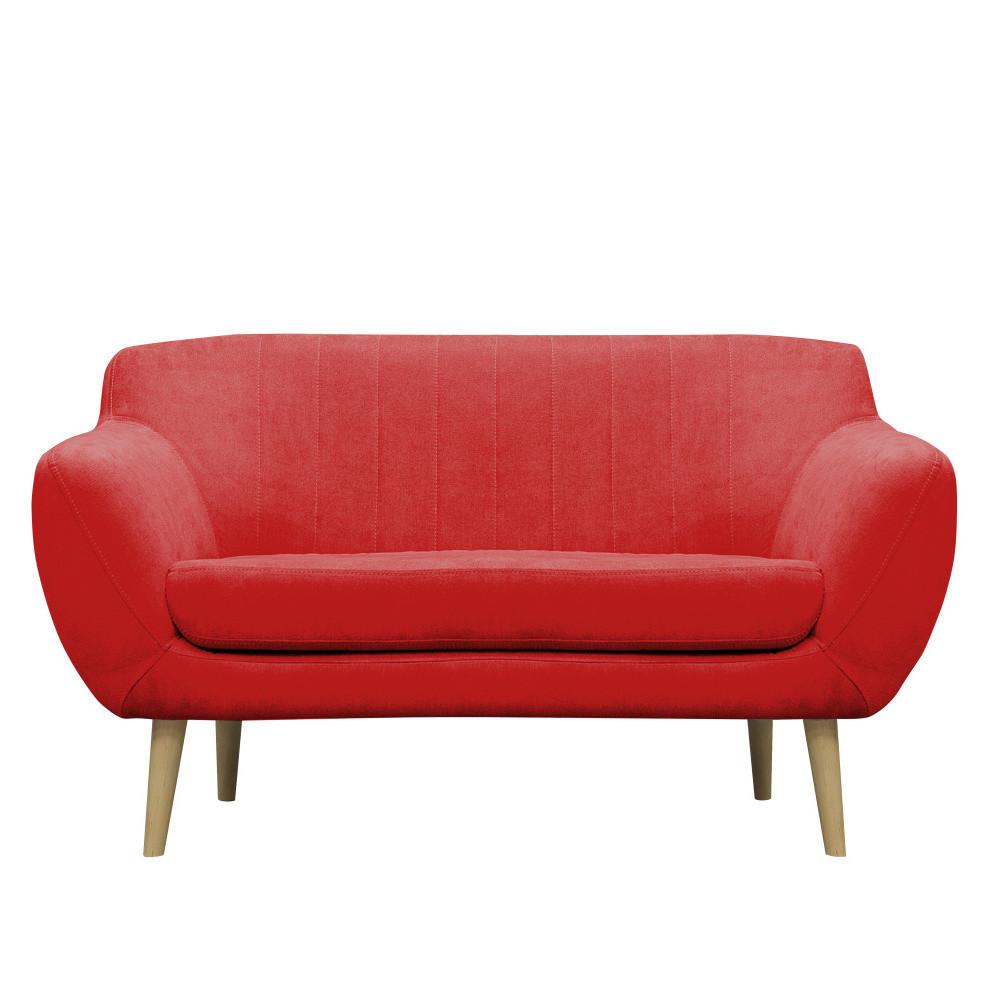 Červená pohovka pre dvoch Mazzini Sofas Sardaigne