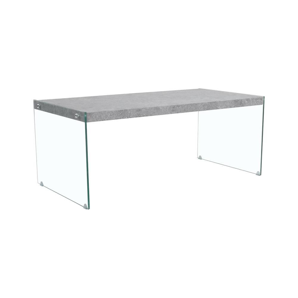 Konferenčný stolík sklo/MDF