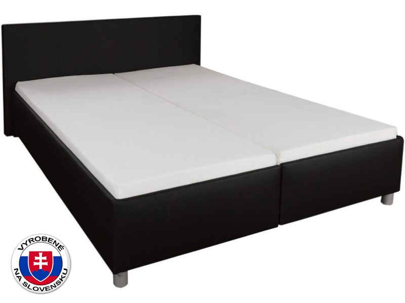 Manželská posteľ 180 cm Alena (s molitanovým matracom)