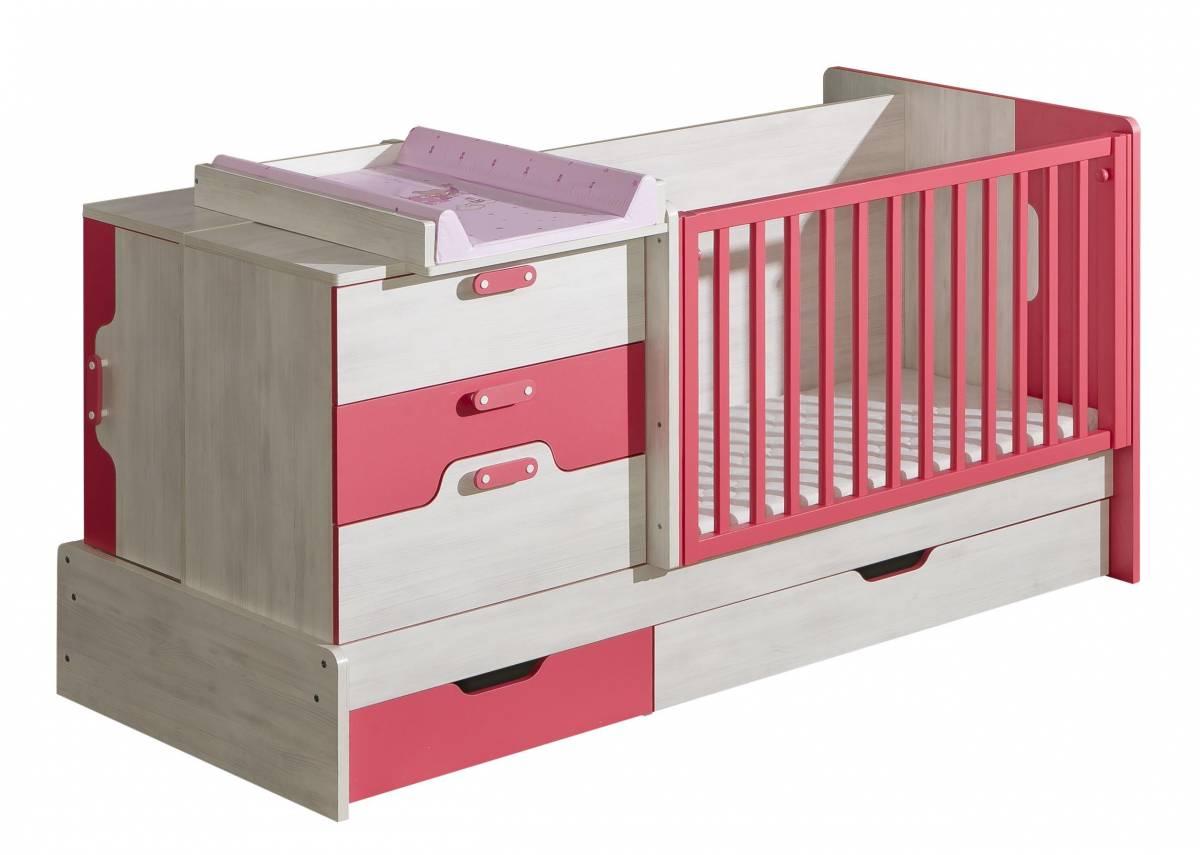 Detská posteľ NU9 (s roštom a úl. priestorom)