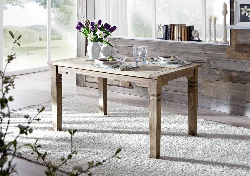 Bighome - CASTLE Jedálenský stôl 140x90 cm, palisander II.akosť