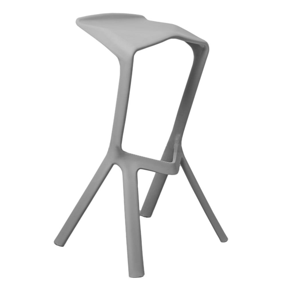 Sivá barová stolička Evergreen Houso Drink