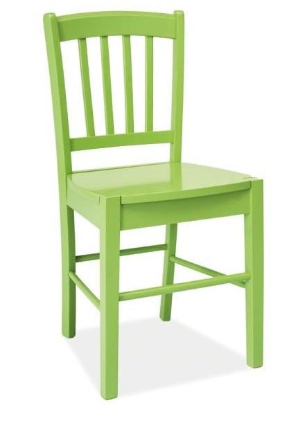 SIGNAL CD-57 jedálenská stolička - zelená