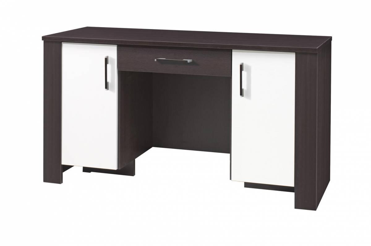 PC stolík C17 (milano + krémová) (so zásuvkou)