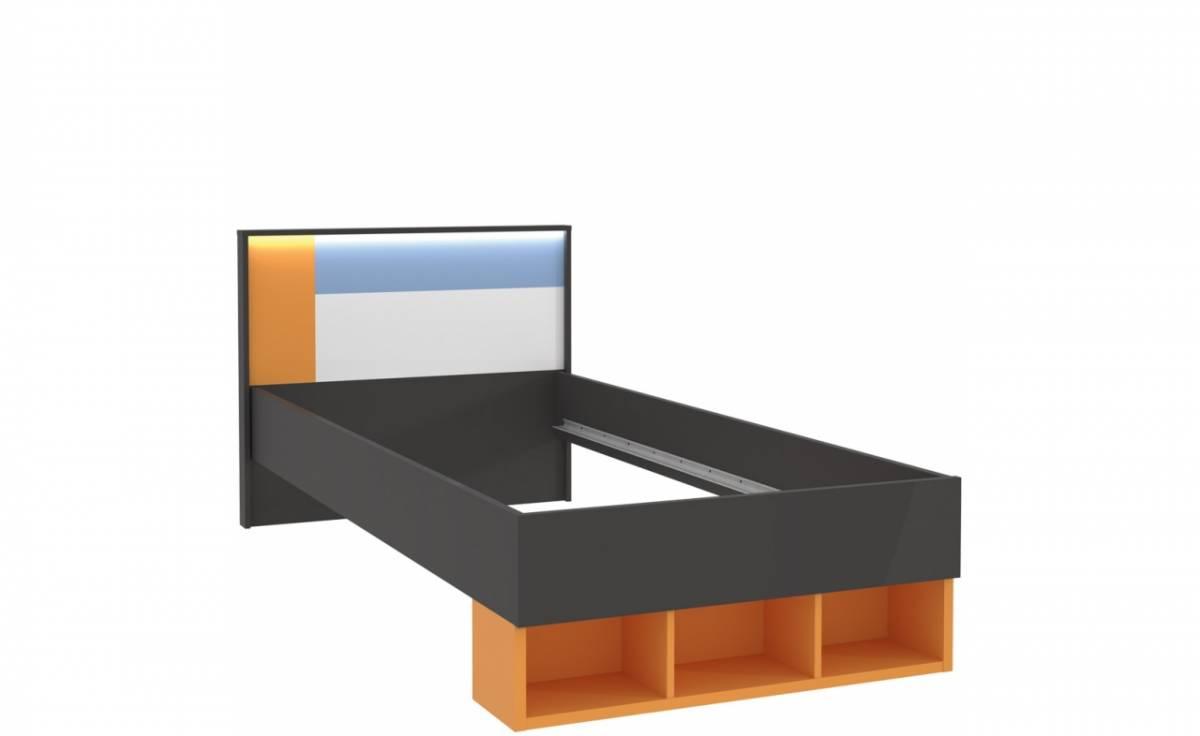 Jednolôžková posteľ COLORS LORL091