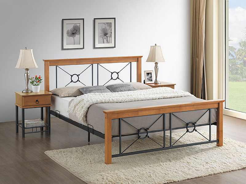 Manželská posteľ 160 cm Soria (s roštom)