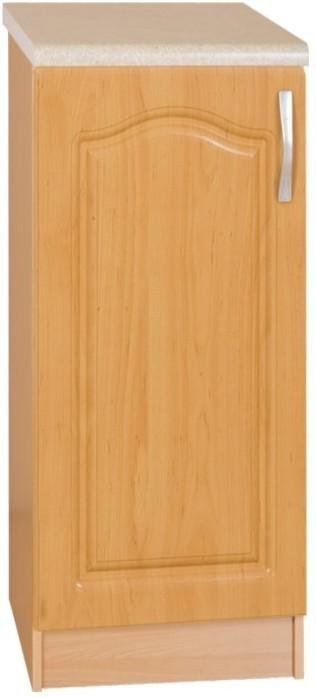 Kuchynská skrinka, ľavá, spodná, jelša, LORA MDF S40