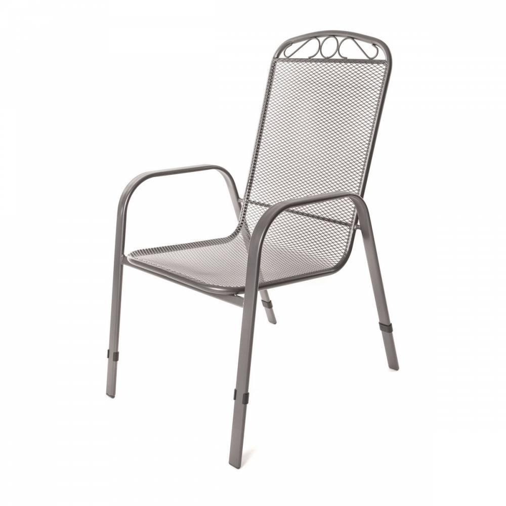 Happy Green Záhradný oceľová stolička