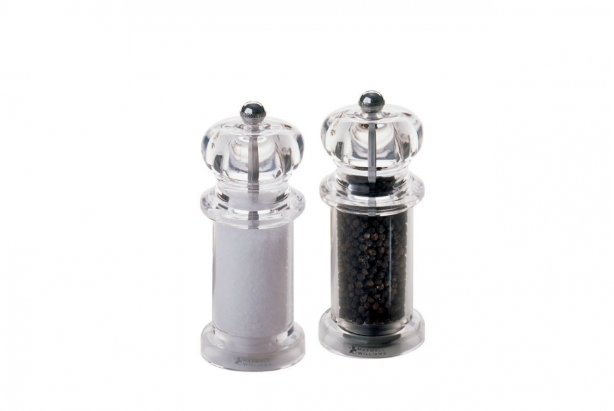 Sada mlynčekov soľ a korenie Classic akryl 14 cm