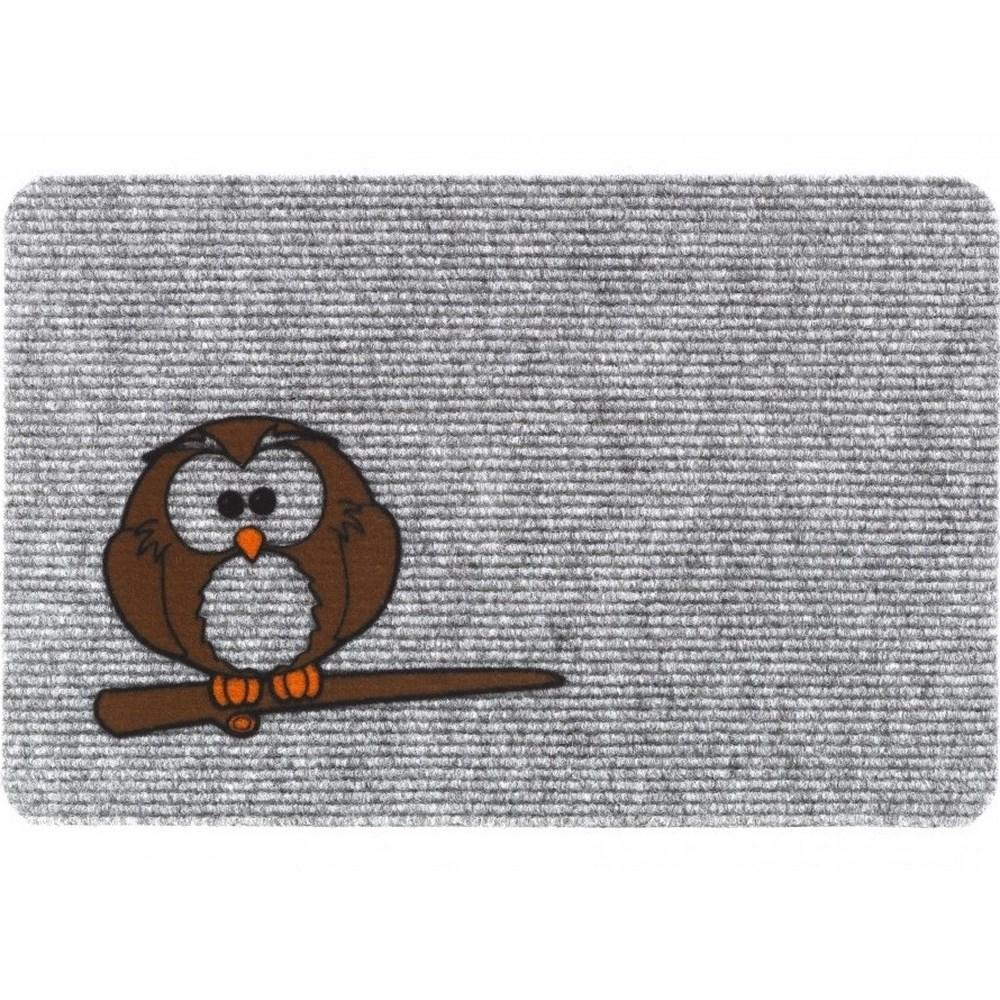 Vopi Vnútorná rohožka Flocky sova 205/086, 40 x 60 cm,