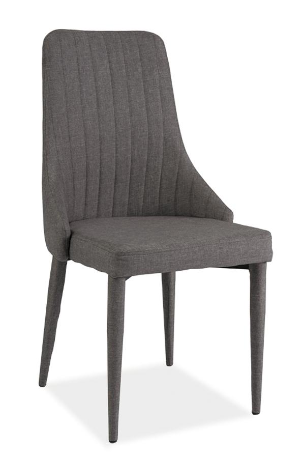 LAURA jedálenská stolička, šedá