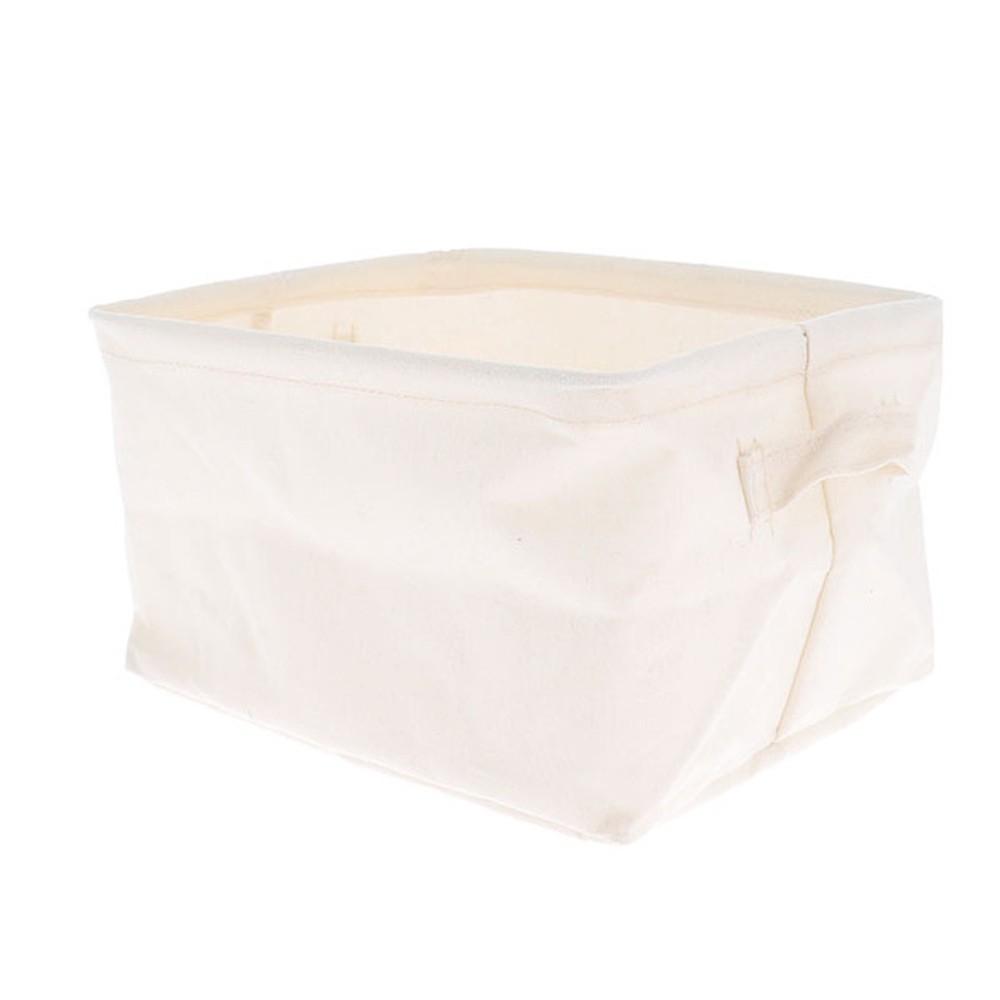 Úložný košík Compactor Cream, 25×15×20 cm