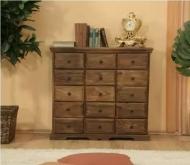 Furniture nábytok  Masívna komoda / príborník z Palisanderu Sijávoš  90x30x90 cm