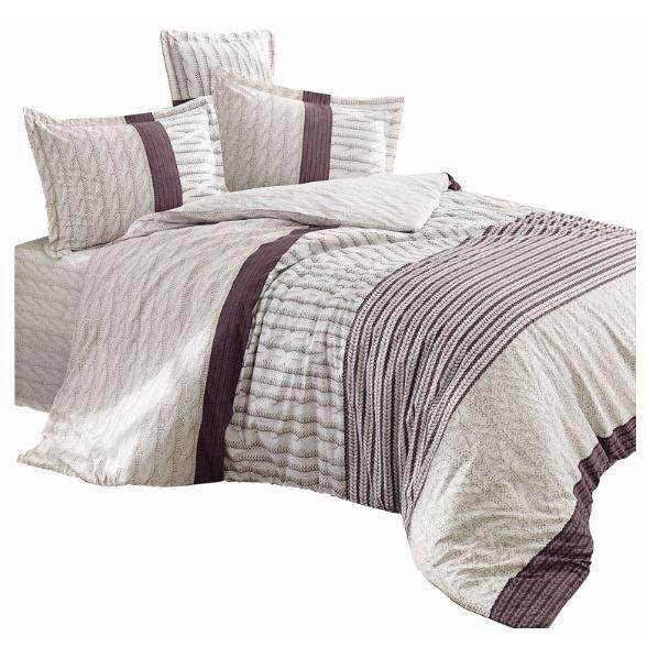 Haley home Obliečky Knitting bavlna, 140 x 200 cm, 70 x 90 cm