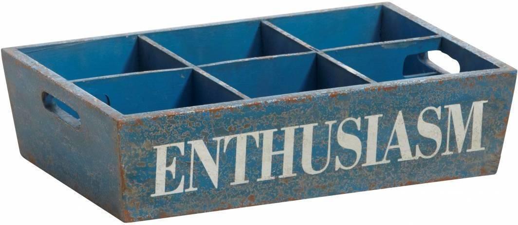 Podnos ENTHUSIASM - modrá