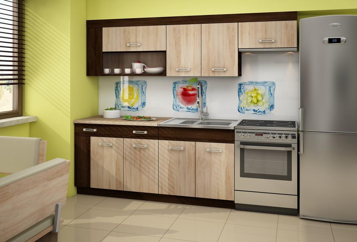 Kuchyňa Viza Plus dub sonoma 240 cm