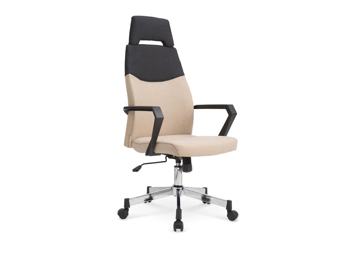 Kancelárska stolička Olaf (béžová + čierna)