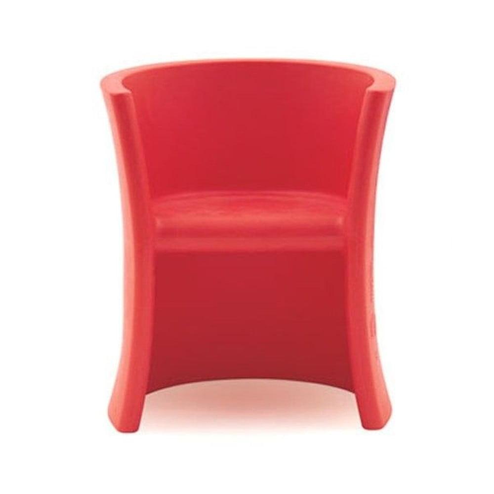 Červená detská stolička Magis Seggiolina Trioli
