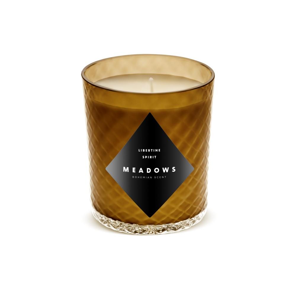 Sviečka Ginger Tea 60 hodín - zázvor, citrónová tráva