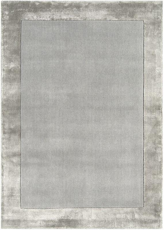 Ascot koberec - strieborná