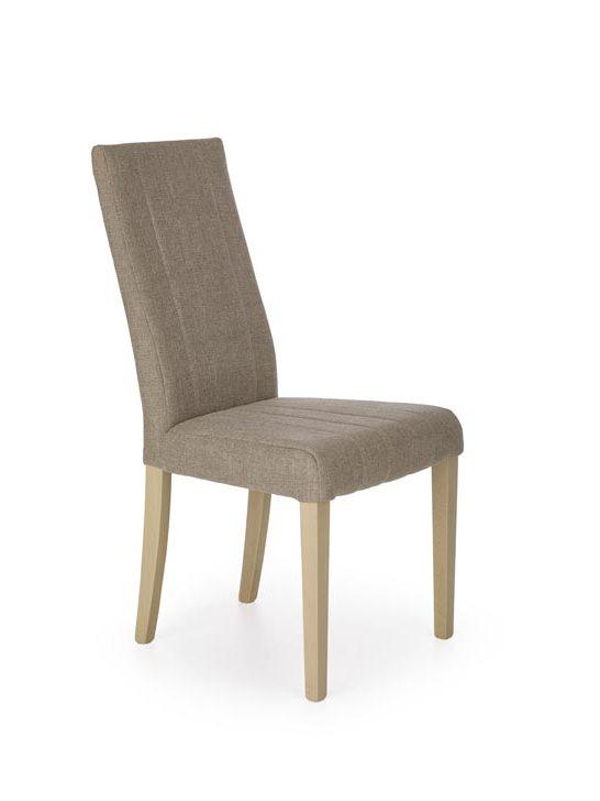 Jedálenská stolička Diego (hnedá + dub sonoma)