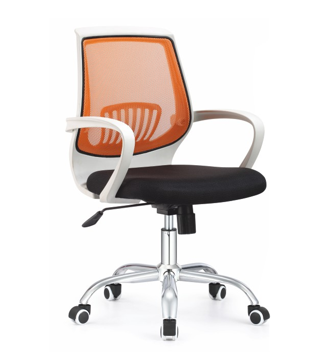 Kancelárske kreslo LANCELOT / oranžová