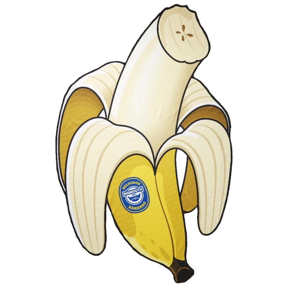Plážová deka v tvare banánu Big Mouth Inc., 152 x 152 cm