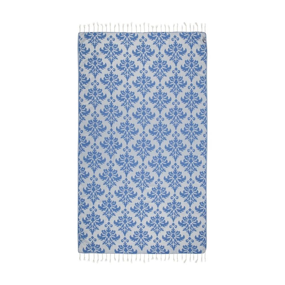 Modrá hammam osuška Kate Louise Serafina, 165x100cm