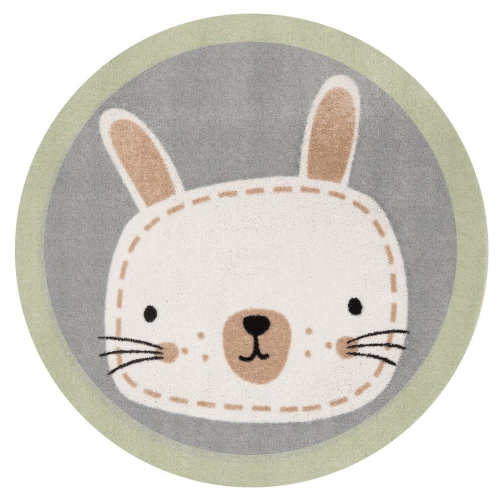 Detský koberec Hanse Home Zajac, ⌀100cm