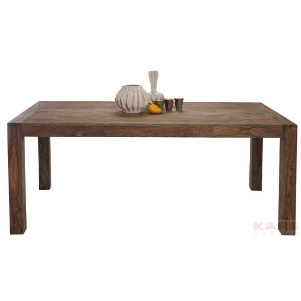 Jedálenský stôl z masívneho palisandrového dreva Kare Design Authentic