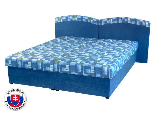 Manželská posteľ 160 cm Duo (s pružinovým matracom)
