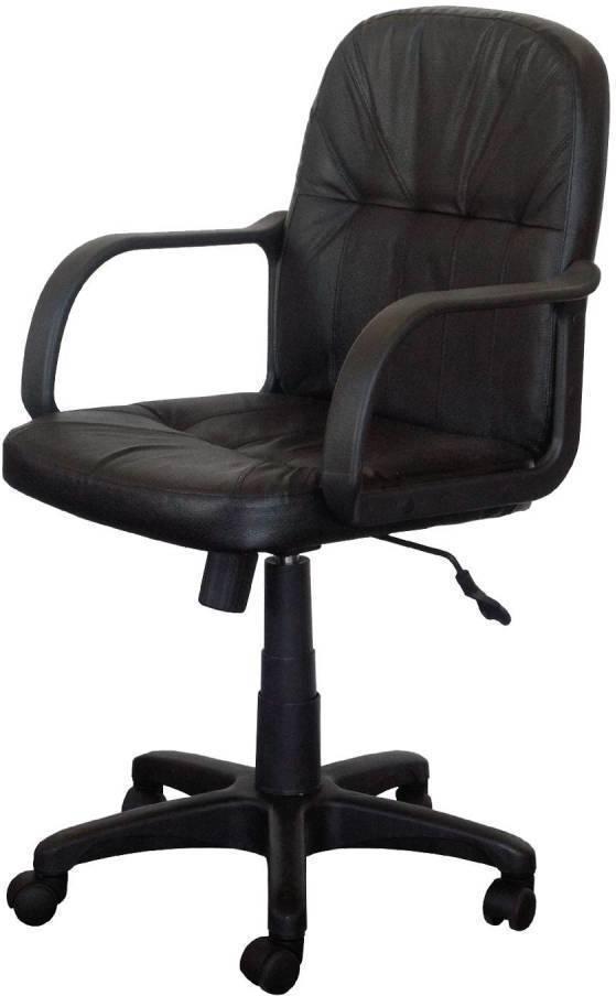 Kancelárske kreslo MANAGER čierna koža