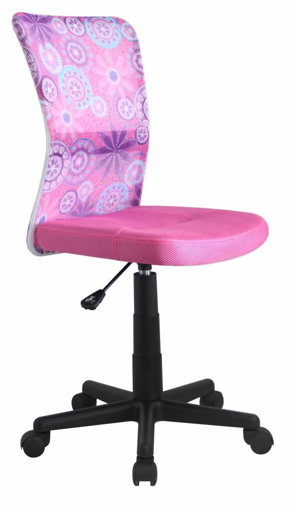 Detská stolička DINGO ružová